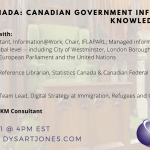 SLA Canada: Canadian Government Information & Knowledge Sharing