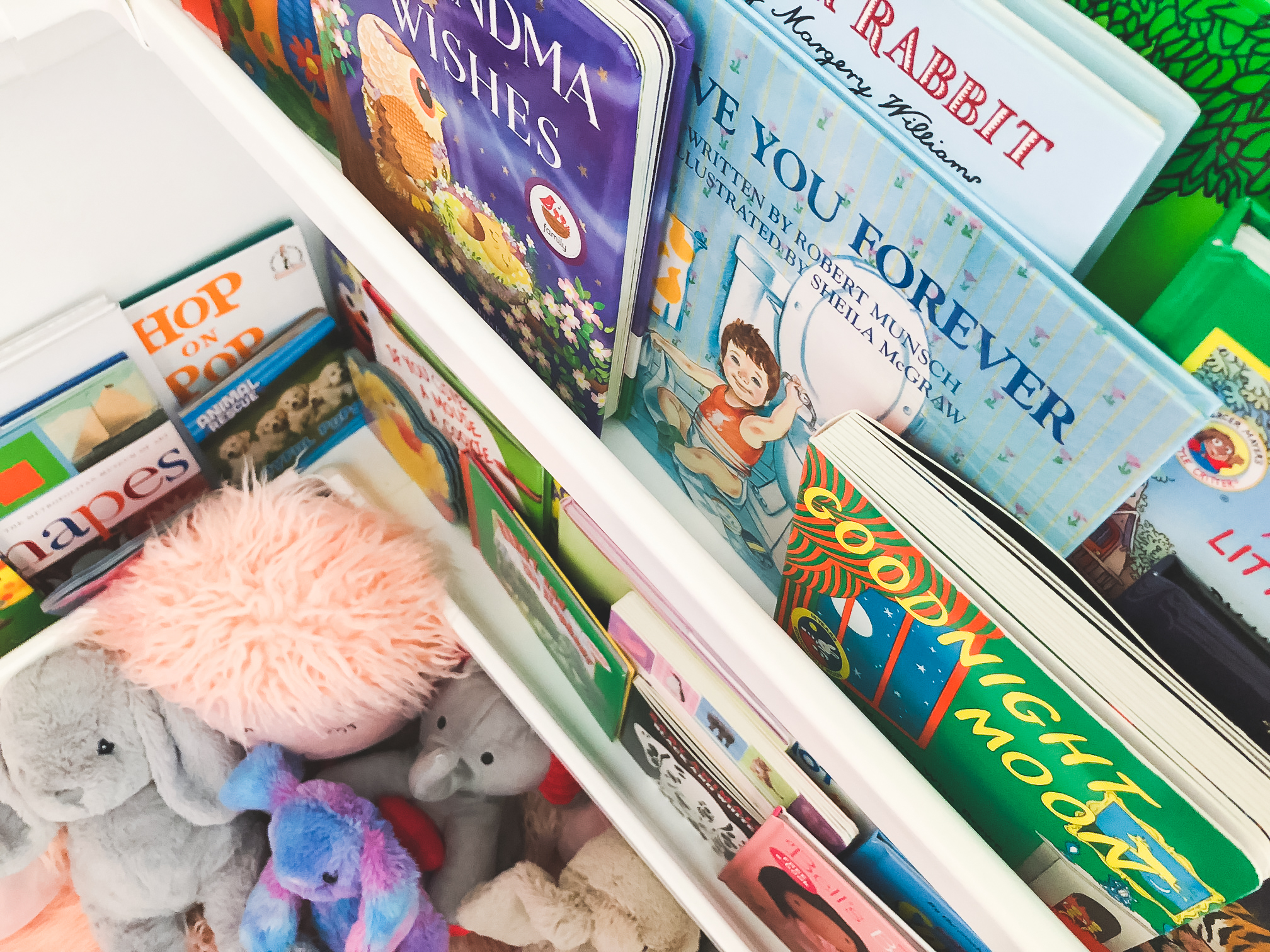 baby room book shelf