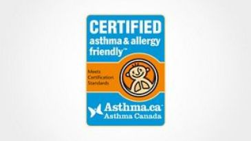 Certified Asthma and Allergy friendly logo