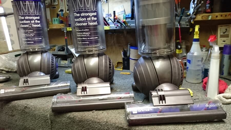 Repaired Dyson Vacuums