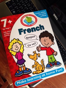 Bargain French workbook