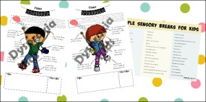 Back-to-School Blues & FREE Dyspraxia Handout for Teachers