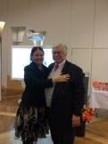 Christa Hafenschar and Richard Schierl