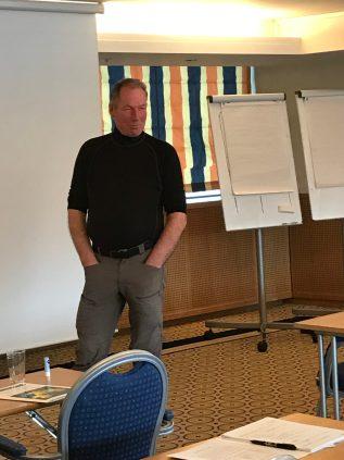 The new President of NDF: John Arnfinn Warvik