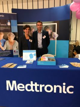Medtronic booth