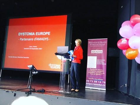 Dystonia Europe Executive Director.