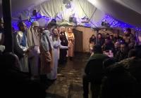 З колядою в зону АТО завітали студенти з Західної України