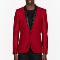 Adonis Bosso for SSENSE wearing Saint Laurent Fall/Winter 2013