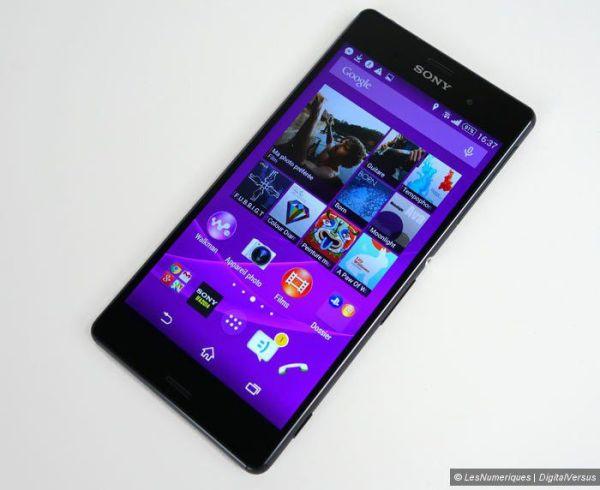 "Sony Xperia Z3 : test de son écran 5,2"" Full HD - Les ..."
