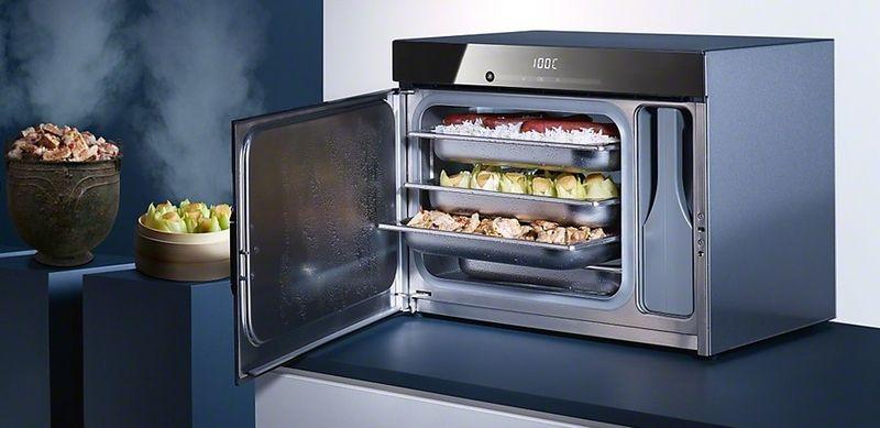cuisson vapeur avec le four dg 6010