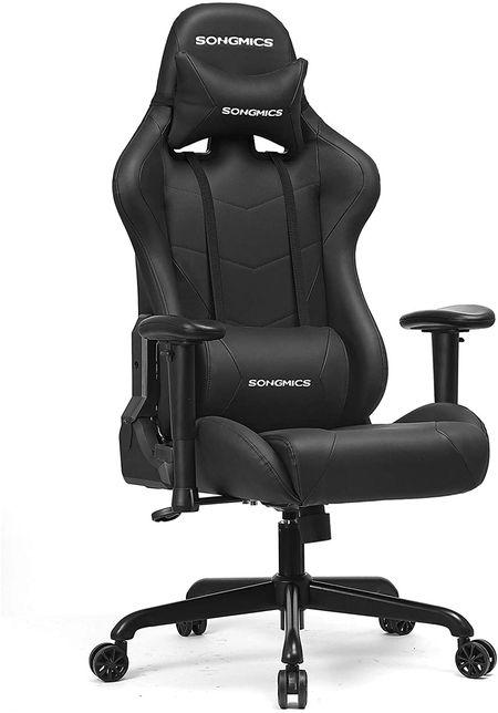 songmics fauteuil gamer rcg42bk