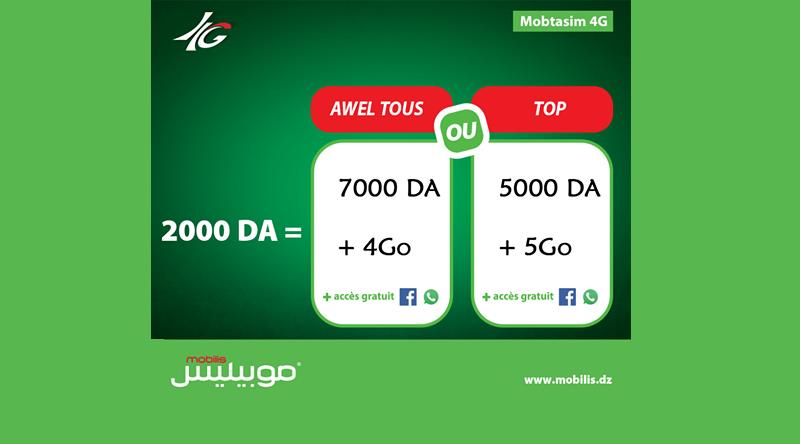 mobilis_mobtasim_4g_prix_offre_promotion