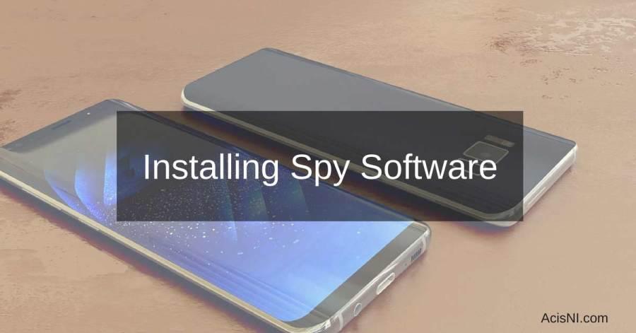 كيفية تثبيت برامج التجسس على الهاتف الذكي للشخص المستهدف