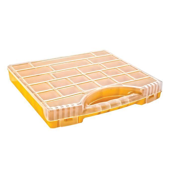 boite de rangement avec compartiments reglables