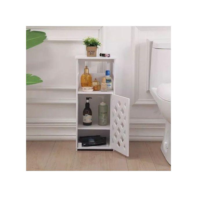 armoire de rangement salle de bain 60x24x26 blanc