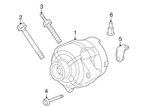 OEM 2007 Buick Terraza Alternator Parts | GMPartsOnline