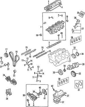 MOUNTS for 2002 Hyundai XG350
