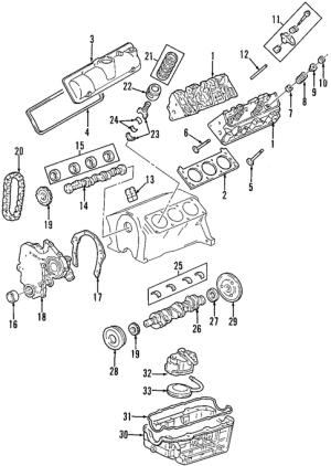 ENGINE for 1996 Chevrolet Lumina APV