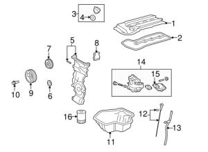 Engine Parts for 2009 Scion xB | TRDToyotapar