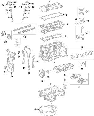 Genuine Cylinder Block 114200V010 | eBay