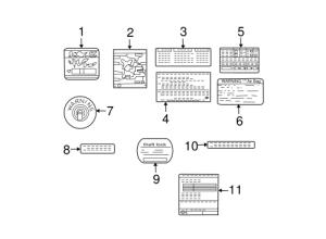 Vacuum Diagram for 2003 Nissan Xterra|223041Z610 : Quirk