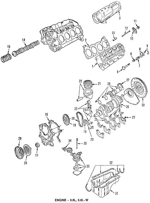 1996 Ford Engine Diagram