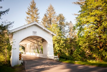 oregon covered bridge