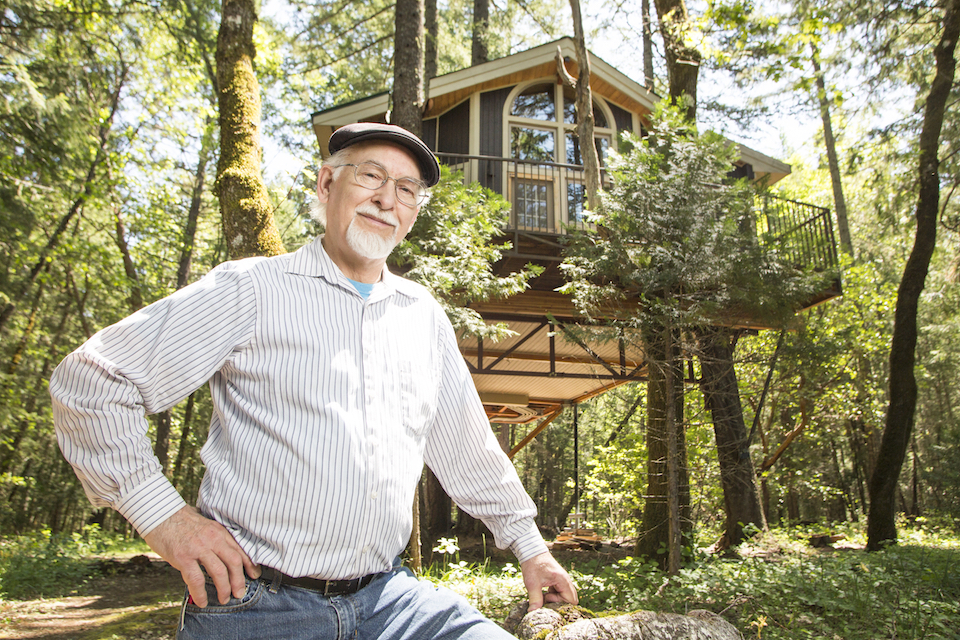 southern oregon, treehouse architects, charles greenwood, david delaney