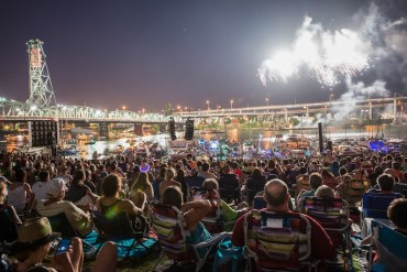 around oregon, calendar, fourth of july, july, waterfront blues fest, fireworks