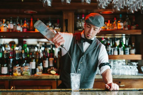 S.S. Legacy bartender Mason Roberts. Un-Cruise Adventures offers a small ship cruise on the Columbia River. What does that land look like from the force of which shaped it? This is the experience photographer Cameron Zegers pursued during an April cruise.