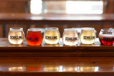 schilling hard cider, seattle