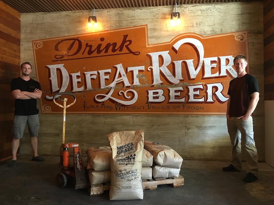 defeat river beer