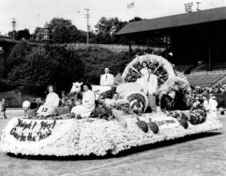 Salem Cherrian Float for the State Fair, Salem, Oregon