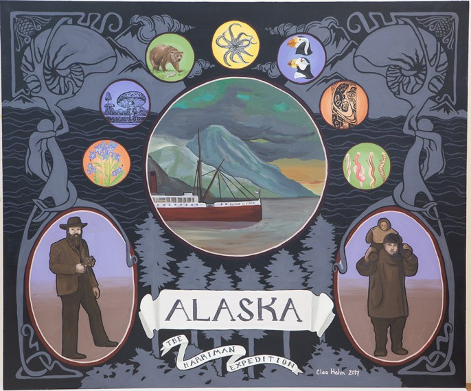 In 1899, wealthy railroad magnate Edward Harriman arranged for a maritime expedition to Alaska. Harriman brought with him an elite community of scientists, artists, photographers, and naturalists to explore and document the Alaskan coast, aboard the refitted steamship SS George W. Elder. The Harriman Alaska expedition explored the coast of Alaska for two months, from Seattle to Siberia and back again.