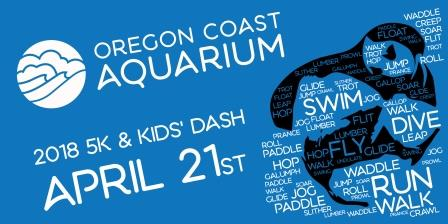 Aquarium 5K Fun Run and Kids' Dash #UOTTER5K