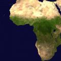 Carte de l'Afrique sur Dzaleu.com