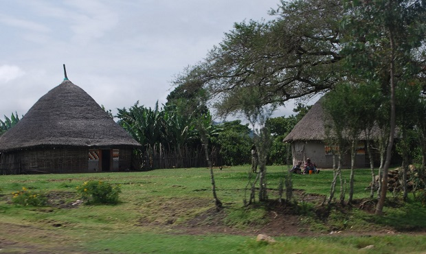 DZALEU.com : African Lifestyle Magazine – Travel across Africa : Oromo's Traditional Houses