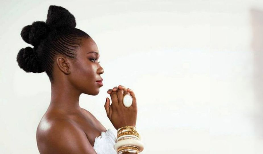 Indie Arie african braids