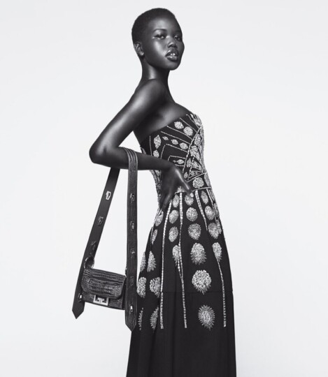 DZALEU.COM : African Lifestyle Magazine - Adut Akech Givenchy campagne Winter of Eden Automne-Hiver 2019-2020