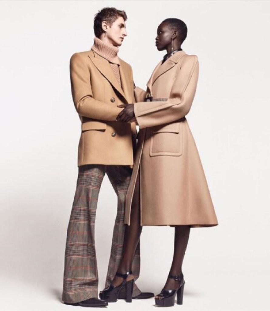 DZALEU.COM : African Lifestyle Magazine - Adut Akech & Henry Kitcher Givenchy campagne Winter of Eden Automne-Hiver 2019-2020
