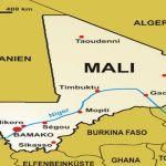 Carte du Mali, Afrique de l'ouest, sahel, Cedeao