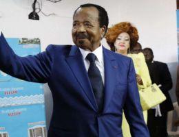 Paul Biya Bi Mvondo, Président de la République du Cameroun et sa femme, Chantal Biya