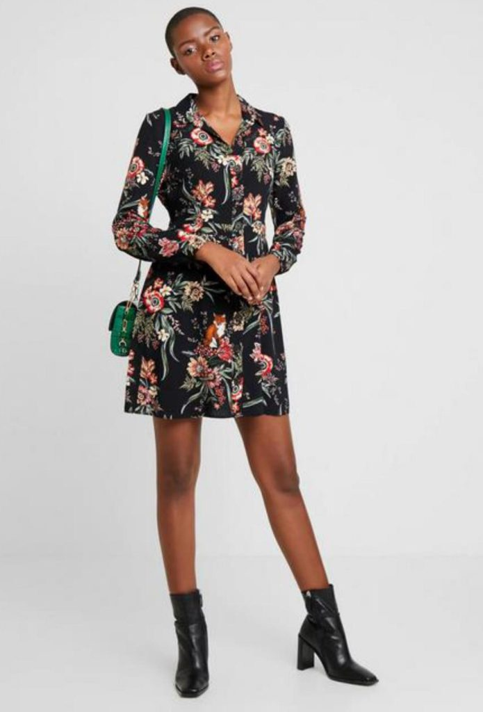 DZALEU.COM : African Lifestyle Magazine - MODE & SHOPPING : La robe fleurie (Short Floral Dress - ZALANDO)