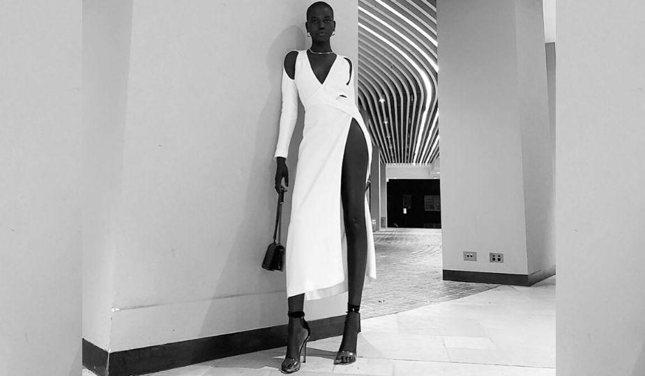 Adut Akech (Sud-Soudan), Top-model de l'année 2019 aux British Fashion Awards