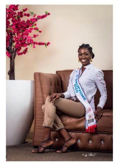 Miss Cameroun 2019 : 17 Simone Gaelle MBIDA NGUELE, 24 ans (1ère Dauphine Sud)