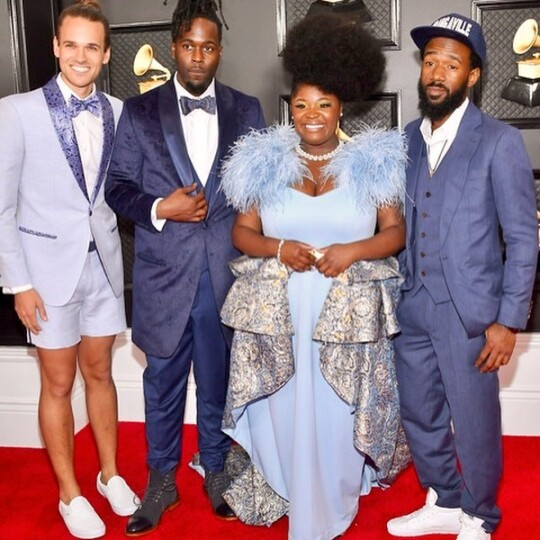 Grammy Awards 2020 Looks : Tank and the Bangas