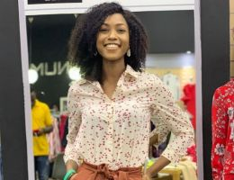Audrey Nabila Monkam (Miss cameroun2020) en mode Numéro Uno Zara Yaoundé
