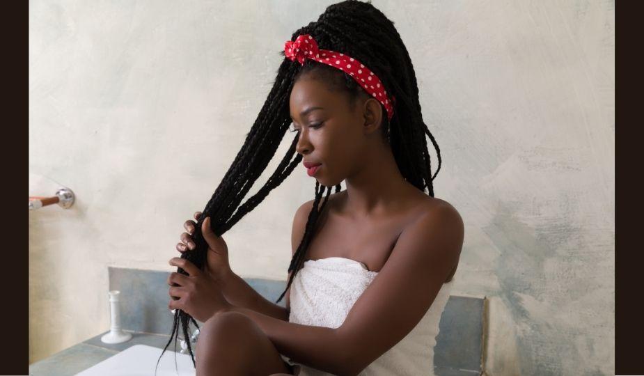 cheveux rastas soins shampoing baignoire