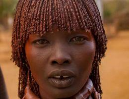Femme Hamar (Ethiopie)