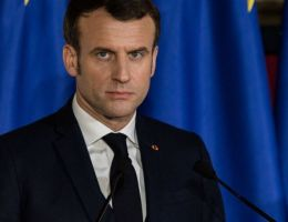 Emmanuel Macron, président français